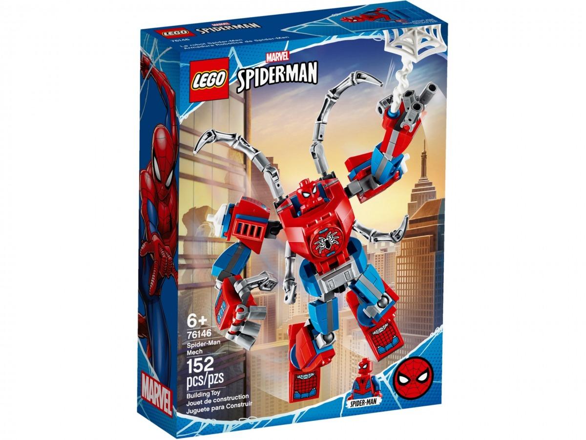lego 76146 armadura robotica de spider man scaled