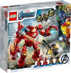 lego 76164 hulkbuster de iron man vs agente de a i m