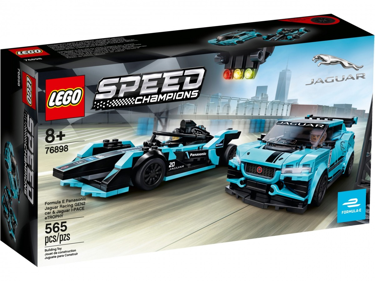 lego 76898 formula e panasonic jaguar racing gen2 car jaguar i pace etrophy scaled