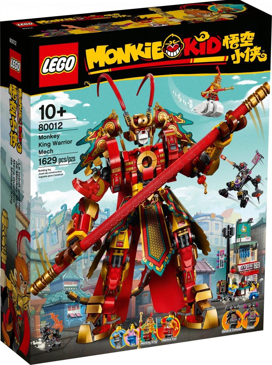 lego 80012 meca guerrero de monkey king scaled