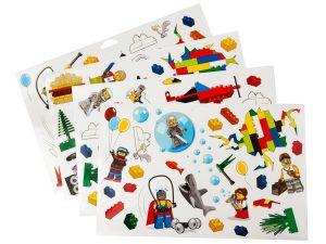 lego 851402 adhesivos de pared