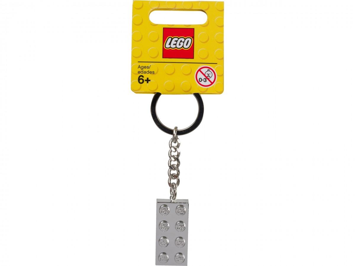 lego 851406 llavero con ladrillo metalizado de 2x4 scaled