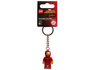 lego 853706 llavero de invincible iron man