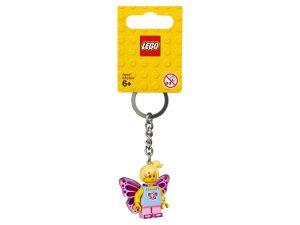 lego 853795 llavero de chica mariposa