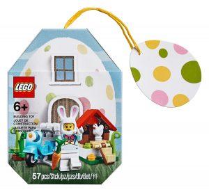 lego 853990 casa del conejo de pascua