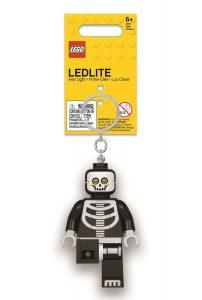 llavero con linterna de esqueleto lego 5005668