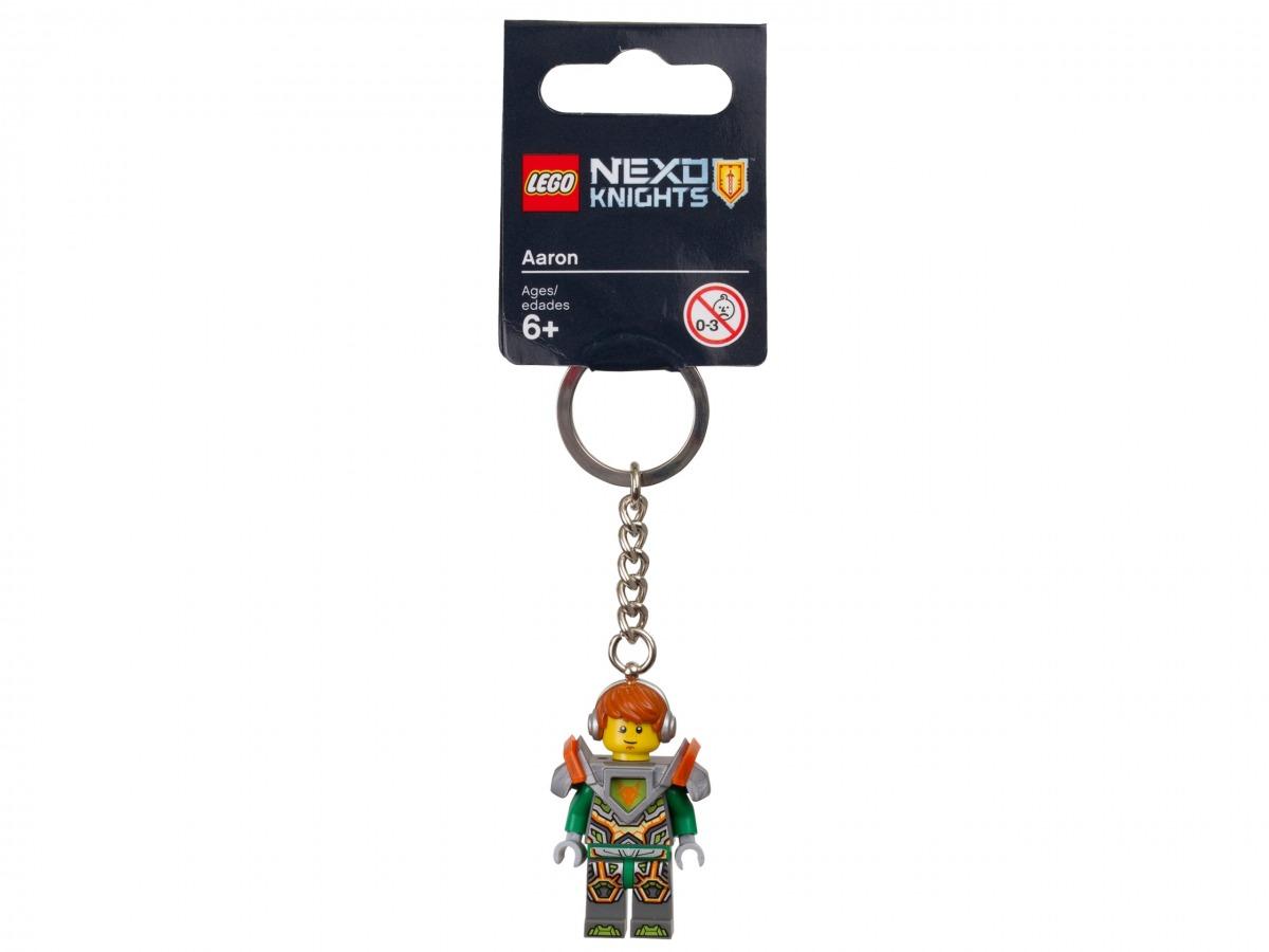 llavero de aaron lego 853685 nexo knights scaled