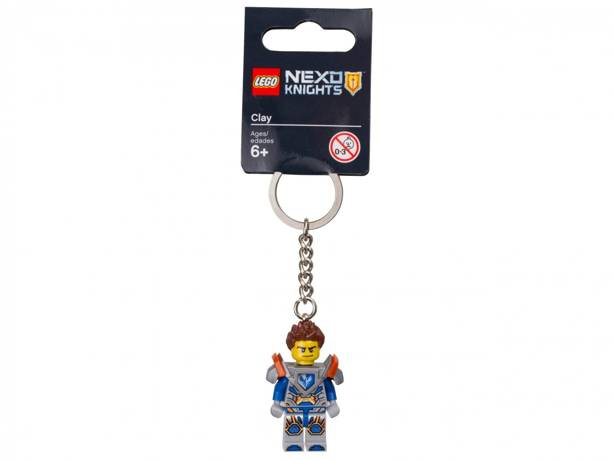 llavero de clay lego 853686 nexo knights scaled