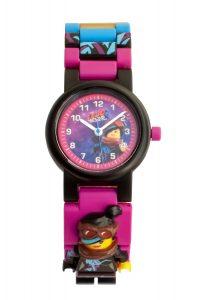 reloj de pulsera con minifigura de supercool de lego 5005703 movie 2