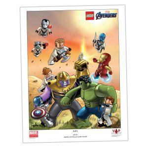 reproduccion artistica 2 de 3 lego 5005881 de avengers endgame
