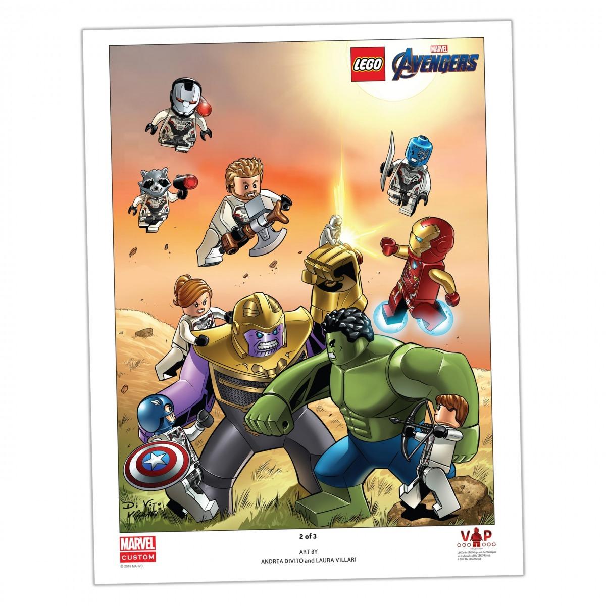 reproduccion artistica 2 de 3 lego 5005881 de avengers endgame scaled