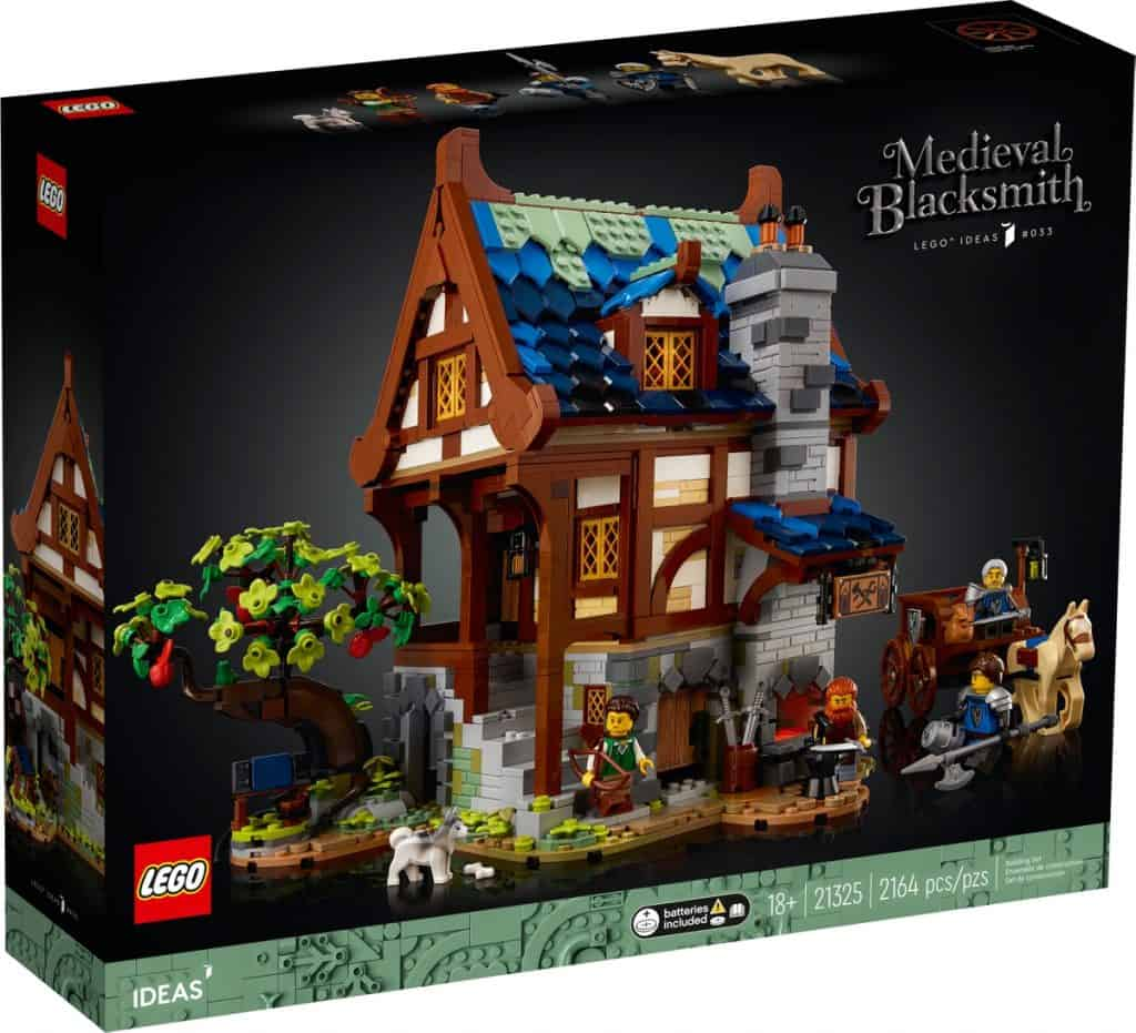 LEGO 21325 Herrería Medieval