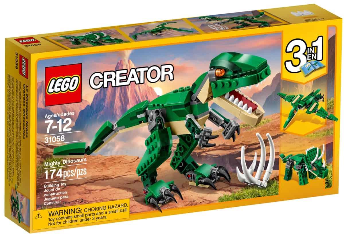 lego 31058 grandes dinosaurios