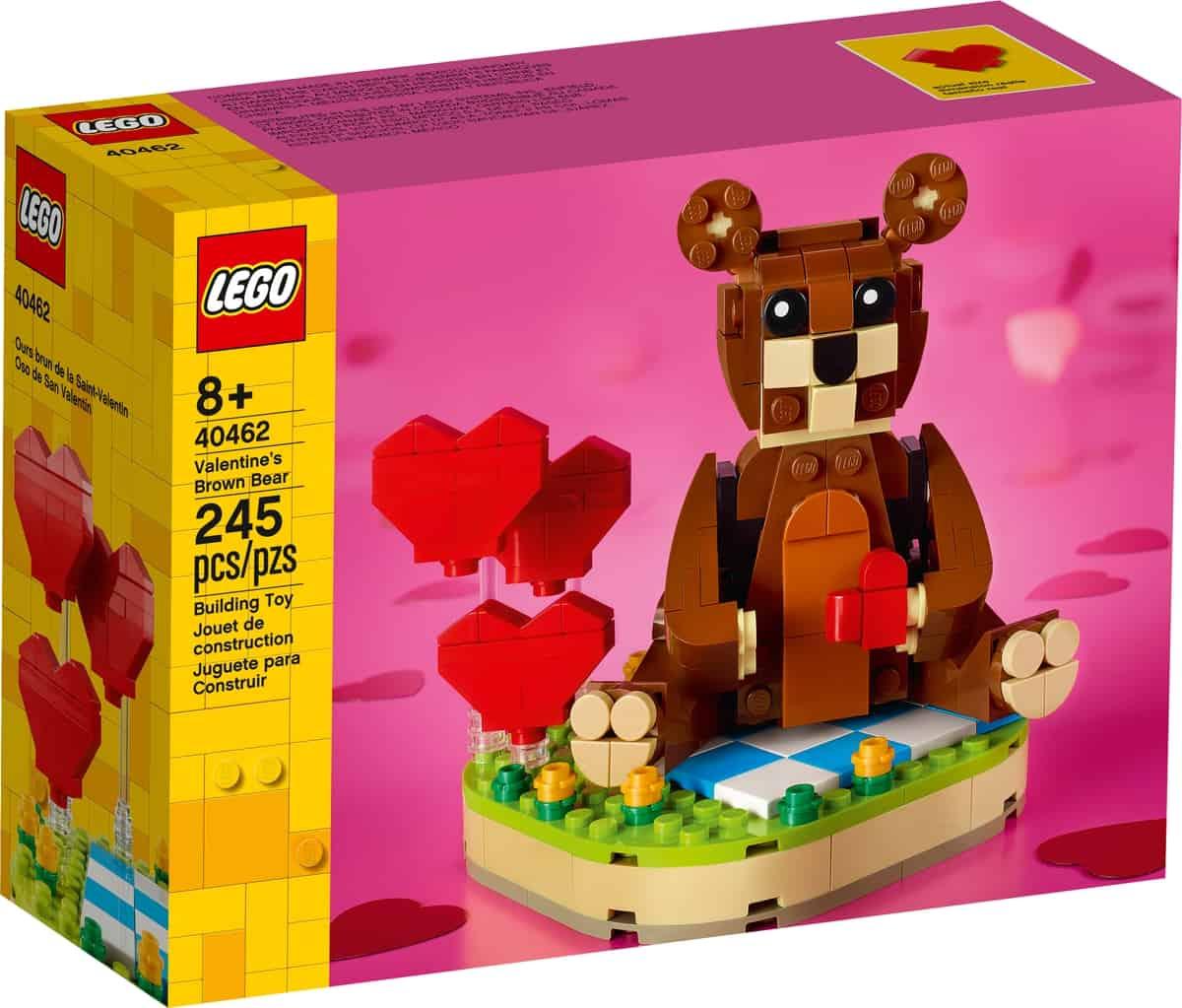 lego 40462 oso de san valentin