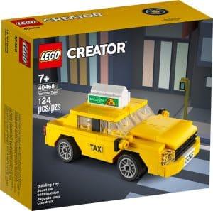 lego 40468 taxi amarillo