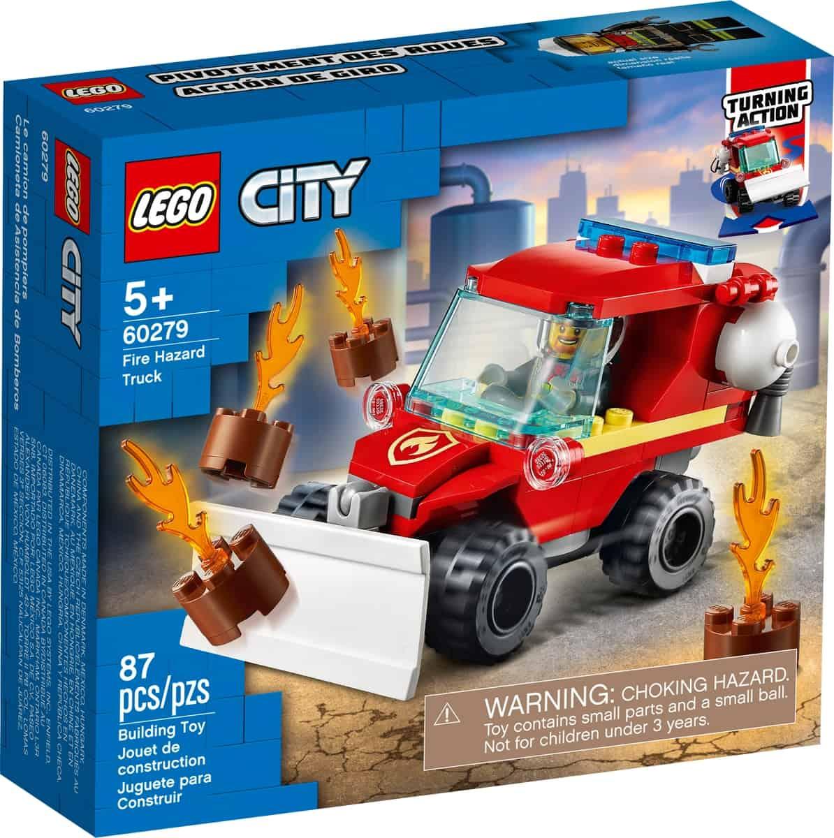 lego 60279 furgoneta de asistencia de bomberos