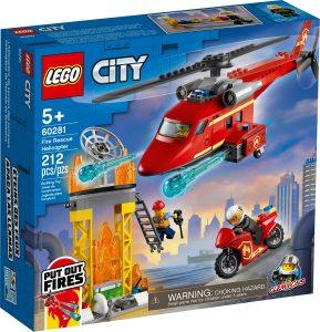 lego 60281 helicoptero de rescate de bomberos