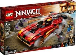 lego 71737 deportivo ninja x 1