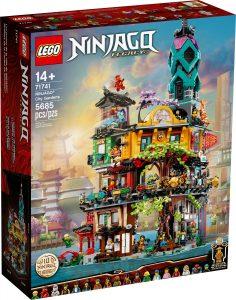 lego 71741 jardines de la ciudad de ninjago