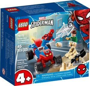 lego 76172 batalla final entre spider man y sandman