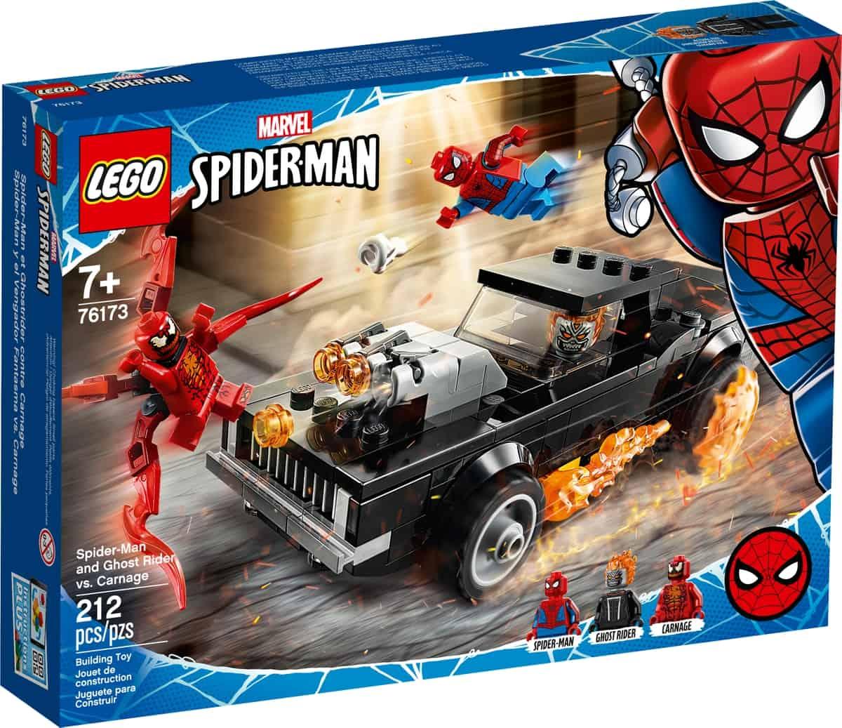 lego 76173 spider man y el motorista fantasma vs carnage