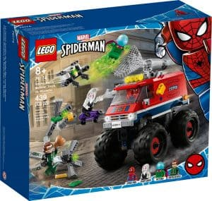 lego 76174 monster truck de spider man vs mysterio