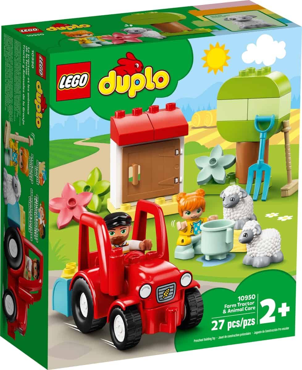 lego 10950 tractor y animales de la granja