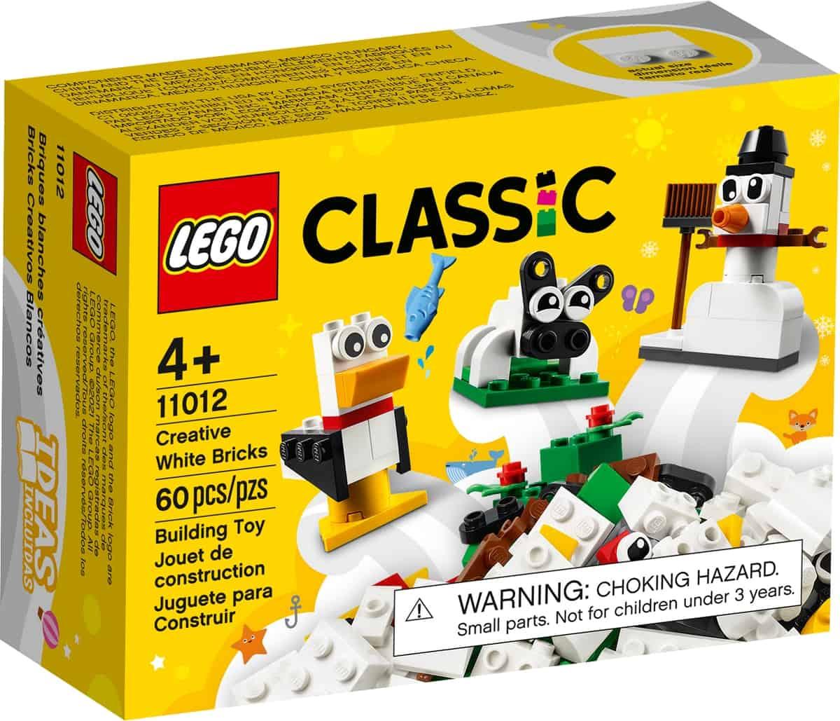 lego 11012 ladrillos creativos blancos