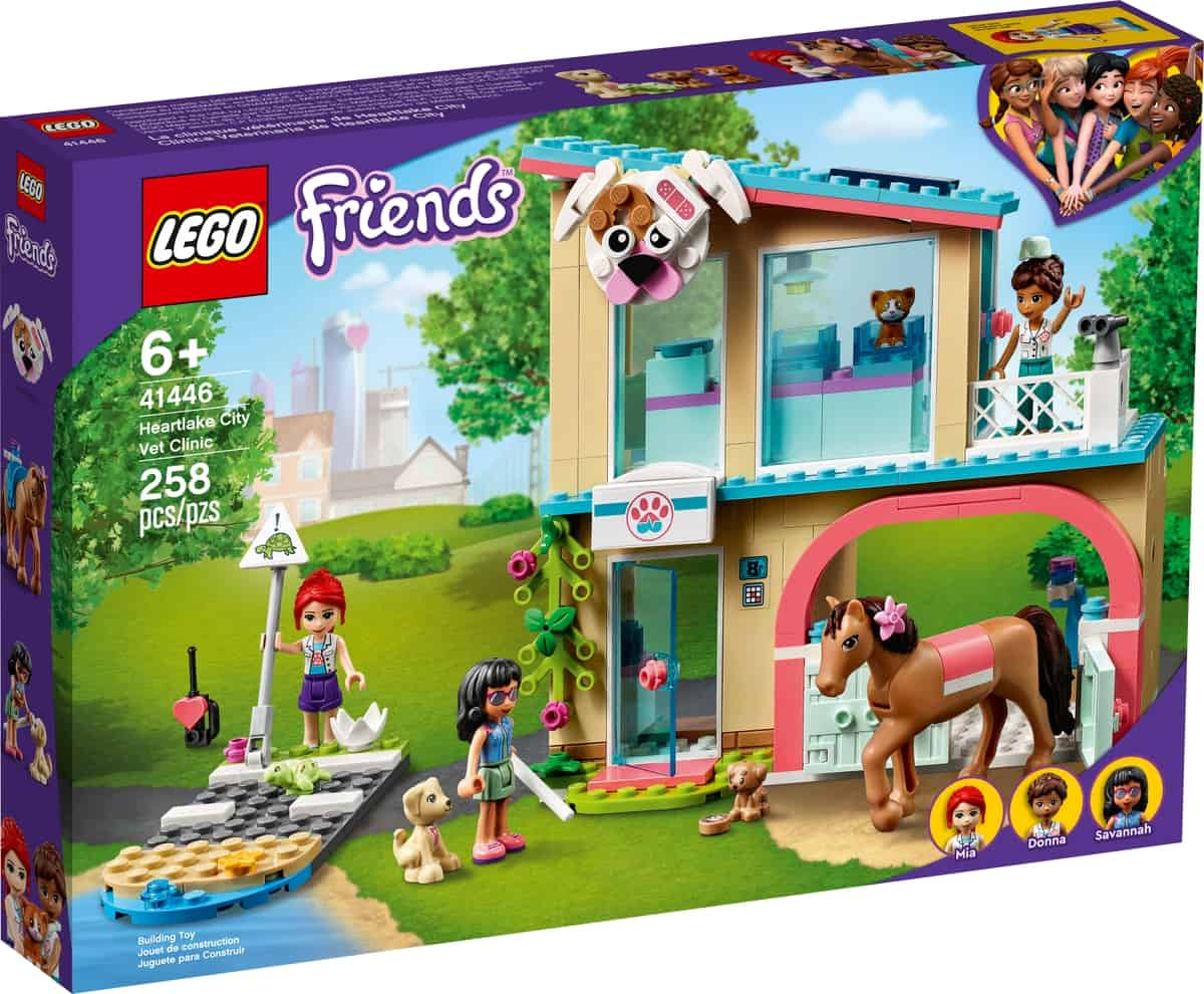 lego 41446 clinica veterinaria de heartlake city