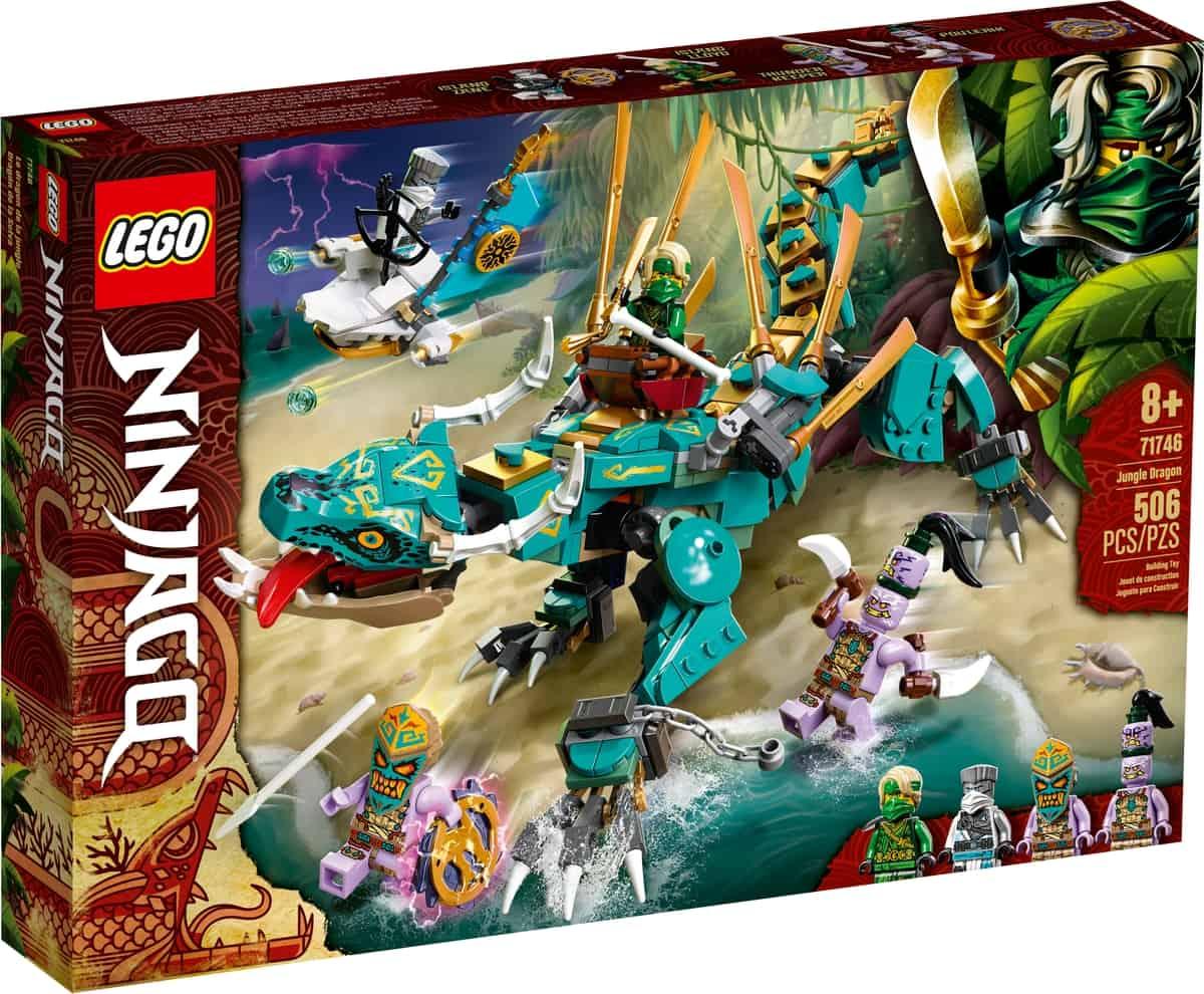 lego 71746 dragon de la jungla