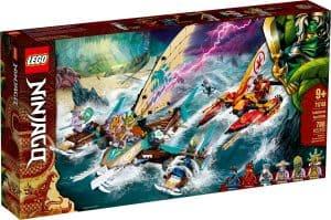 lego 71748 batalla naval en catamaran