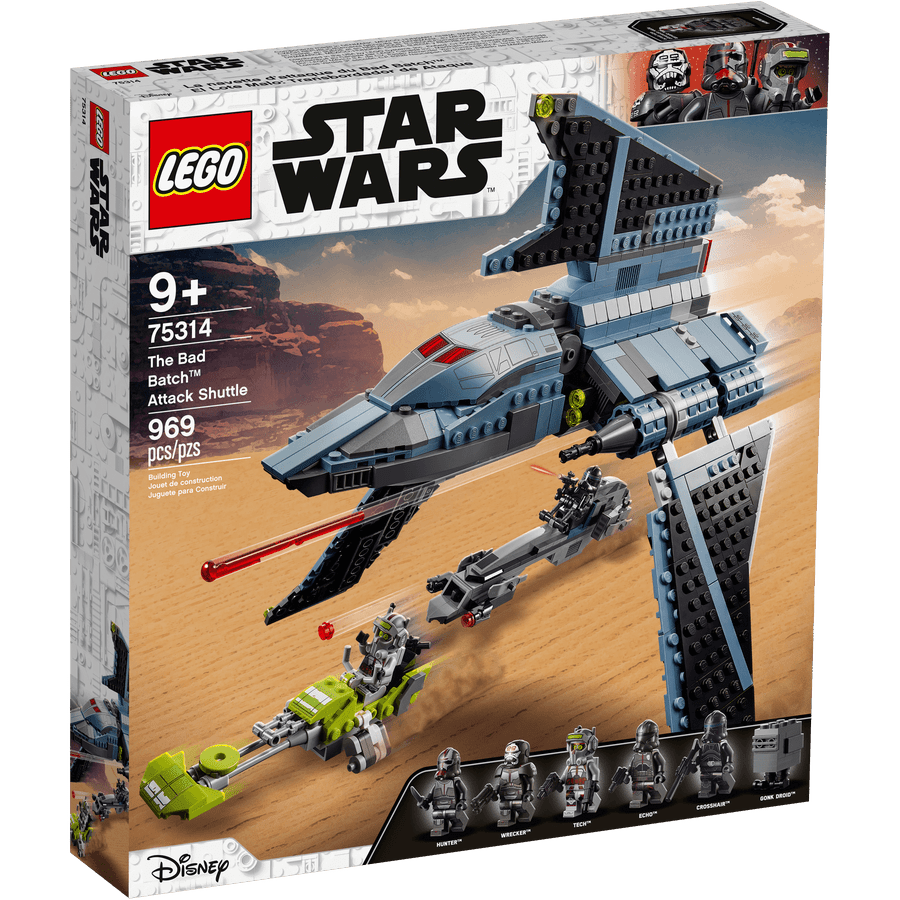LEGO 75314 The Bad Batch: Lanzadera de Ataque - 20210506