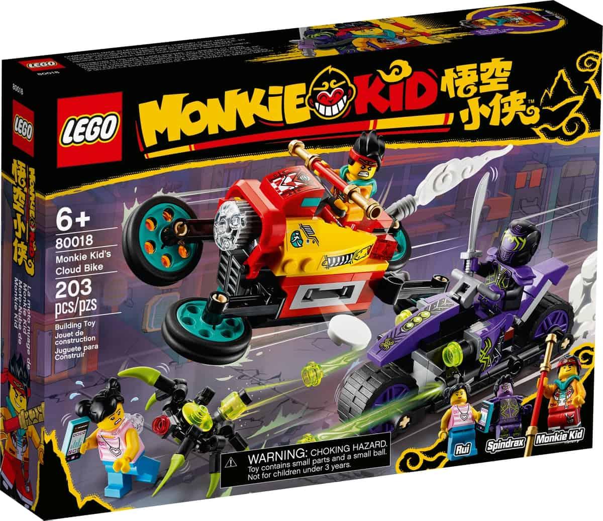 lego 80018 moto nube de monkie kid