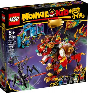 lego 80021 leon guardian de monkie kid