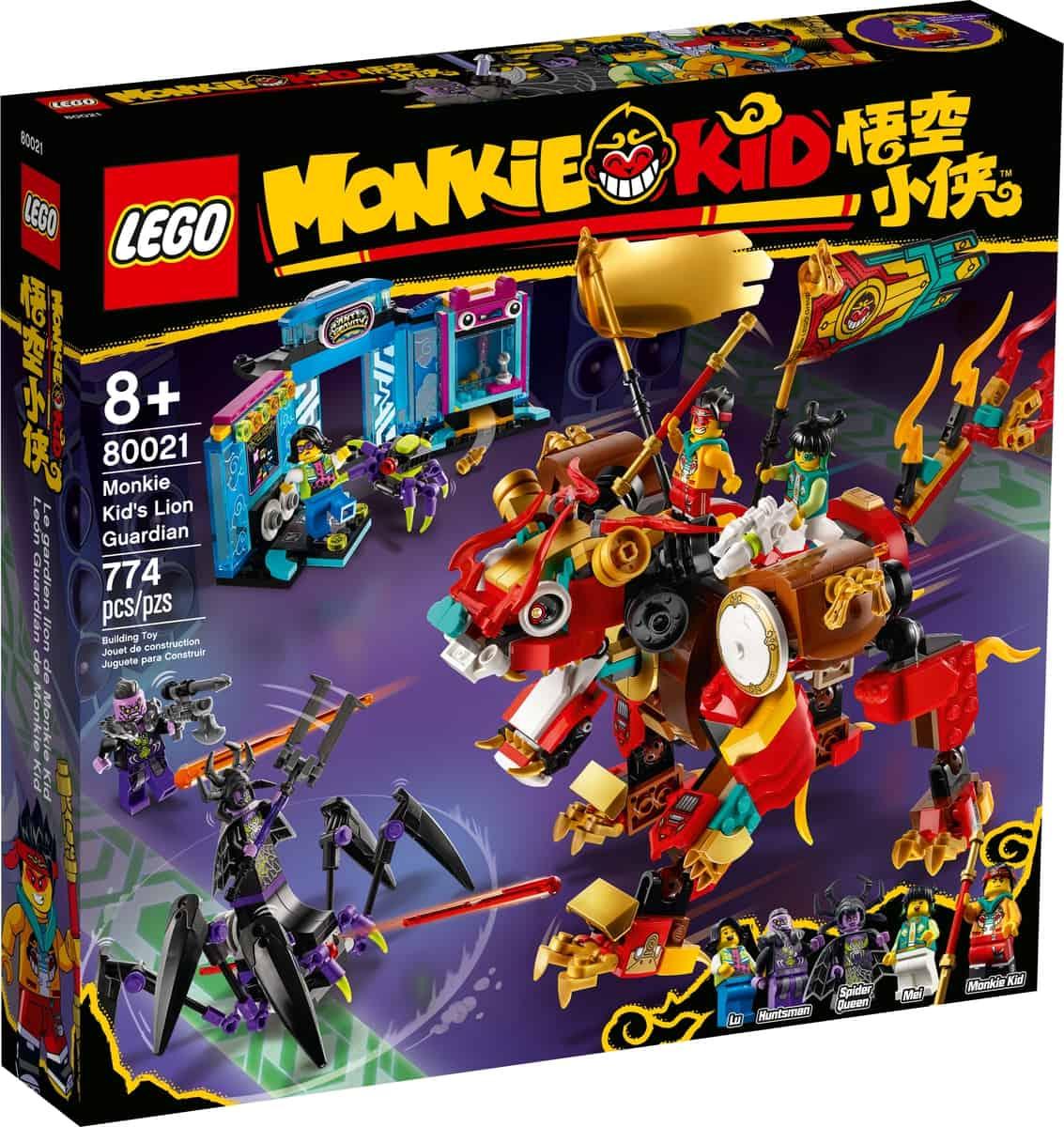 lego 80021 leon guardian de monkie kid