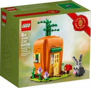 lego 40449 casa zanahoria del conejo de pascua