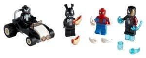 lego 40454 spider man vs venom y iron venom
