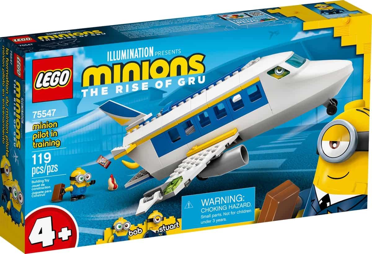 lego 75547 minion piloto en practicas