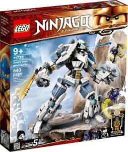 lego 71738 combate en el titan robot de zane