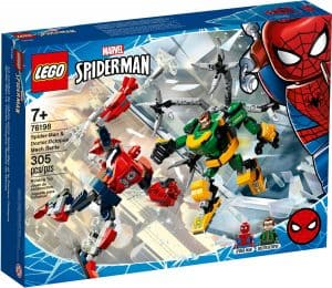 lego 76198 spider man vs doctor octopus batalla de mecas