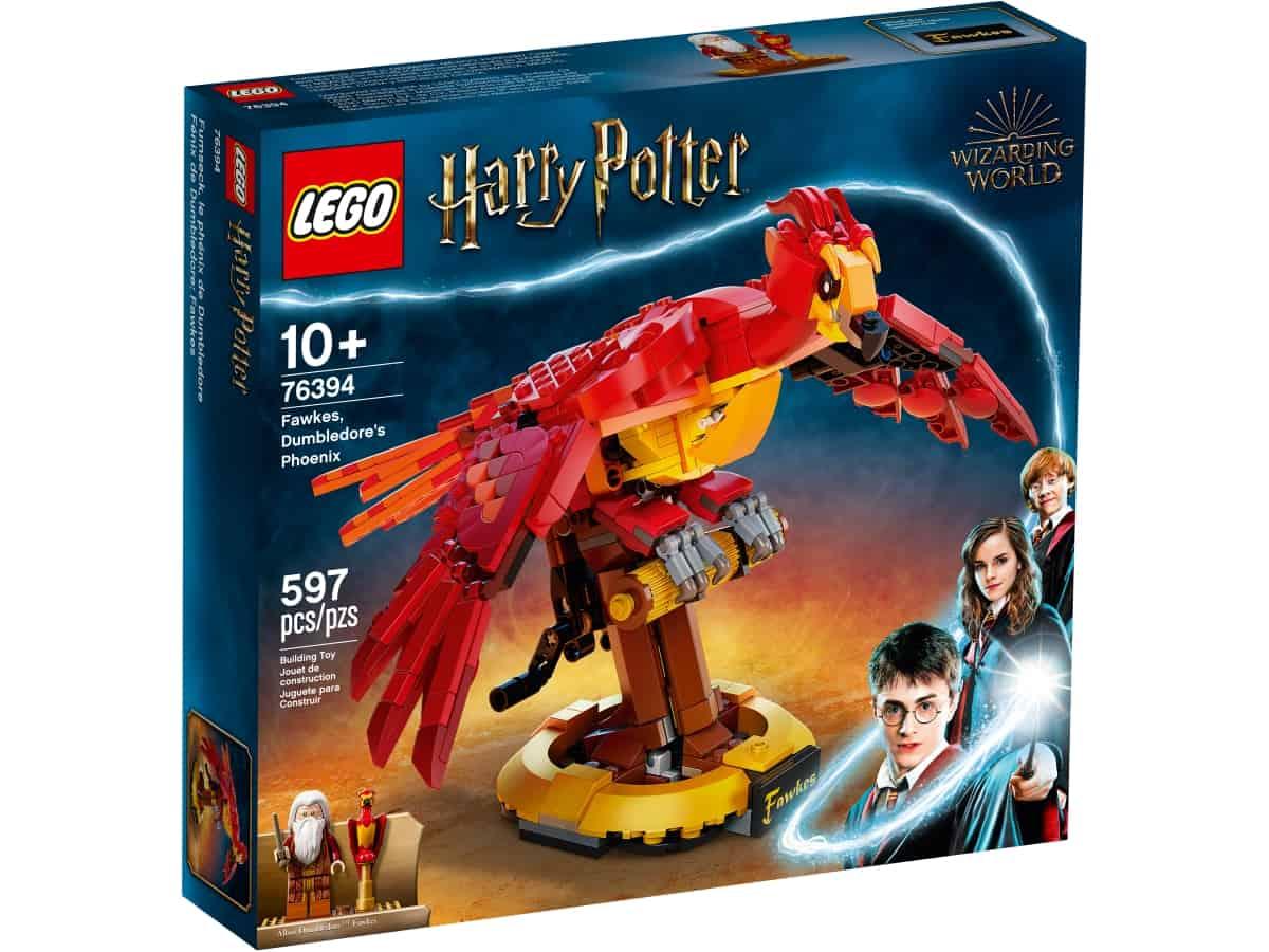 lego 76394 fenix de dumbledore fawkes