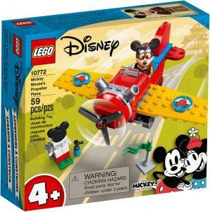 lego 10772 avion clasico de mickey mouse
