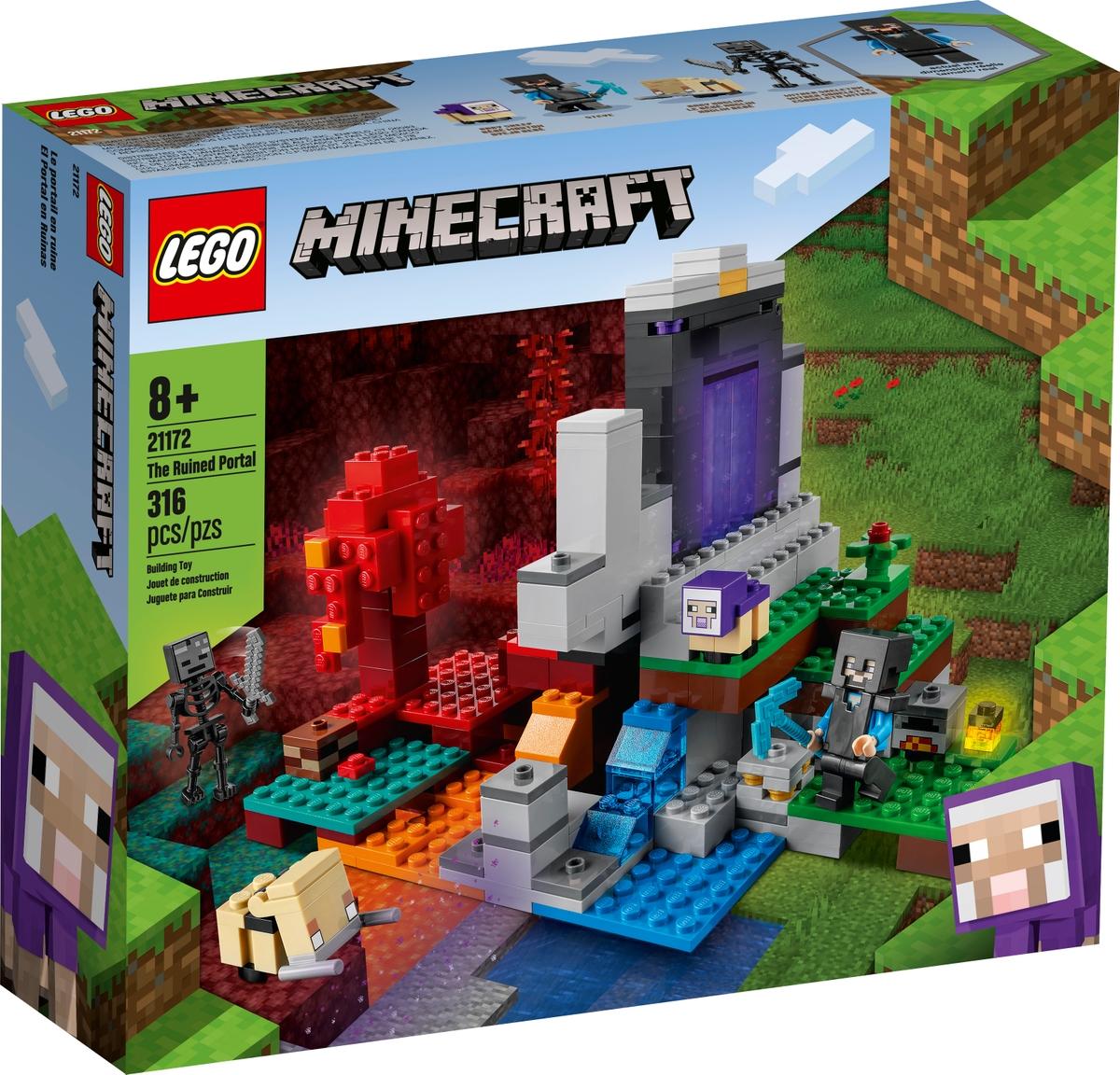 lego 21172 el portal en ruinas