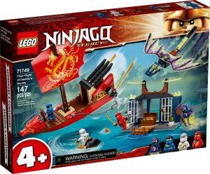 lego 71749 vuelo final del barco de asalto ninja