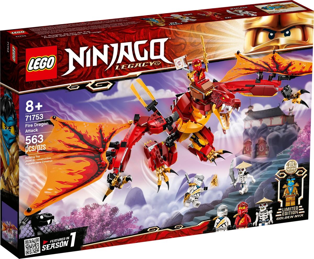 lego 71753 ataque del dragon de fuego