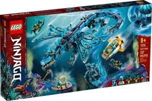 lego 71754 dragon de agua