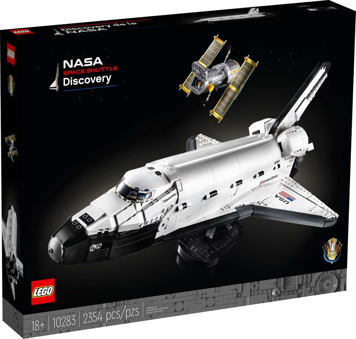 lego 10283 transbordador espacial discovery de la nasa