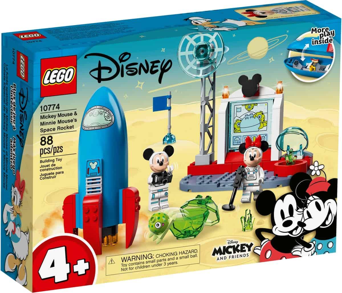 lego 10774 cohete espacial de mickey mouse y minnie mouse