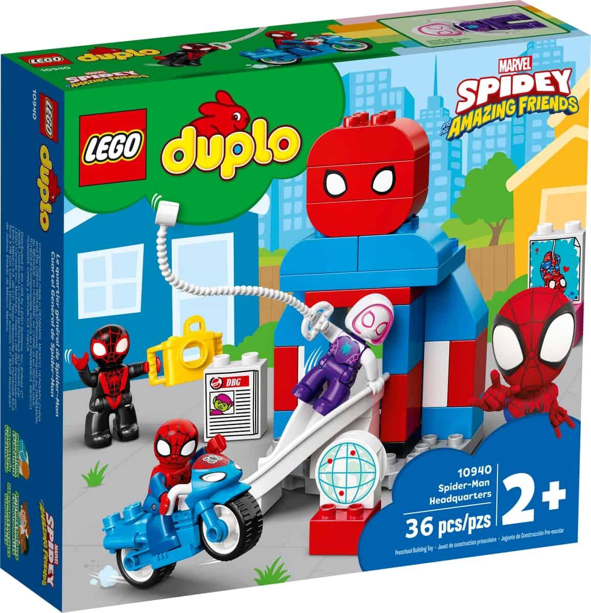 lego 10940 cuartel general de spider man