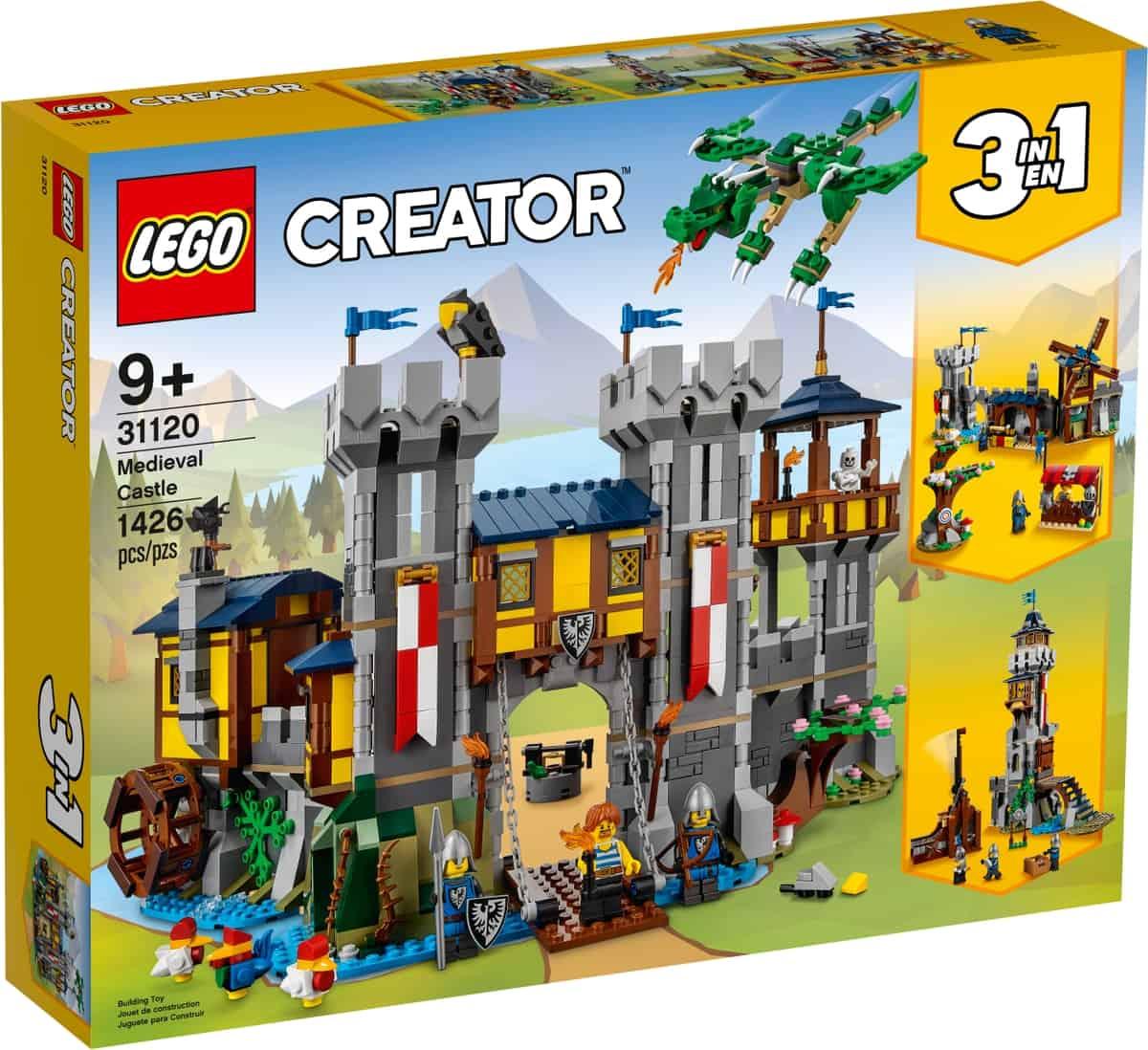 lego 31120 castillo medieval